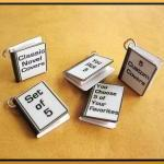 Custom Miniature Book Charm..